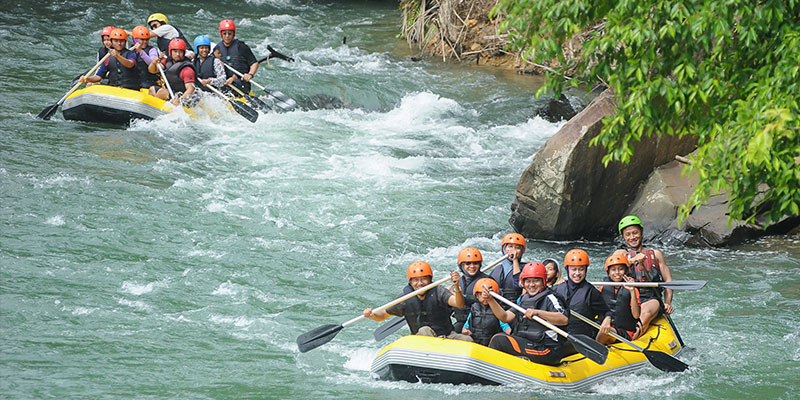 White Water Rafting – Kiulu